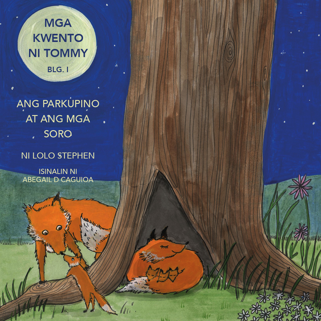 V.1 The Tommy Stories Tagalo Translation Front Cover