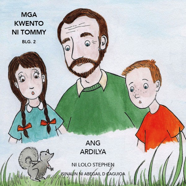 V.2 The Tommy Stories Tagalo Translation Front Cover