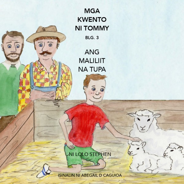V.3 The Tommy Stories Tagalo Translation Front Cover